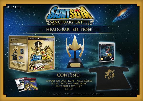 Saint Seiya : les Chevaliers du Zodiaque – La Bataille du Sanctuaire – édition Collector Headgear
