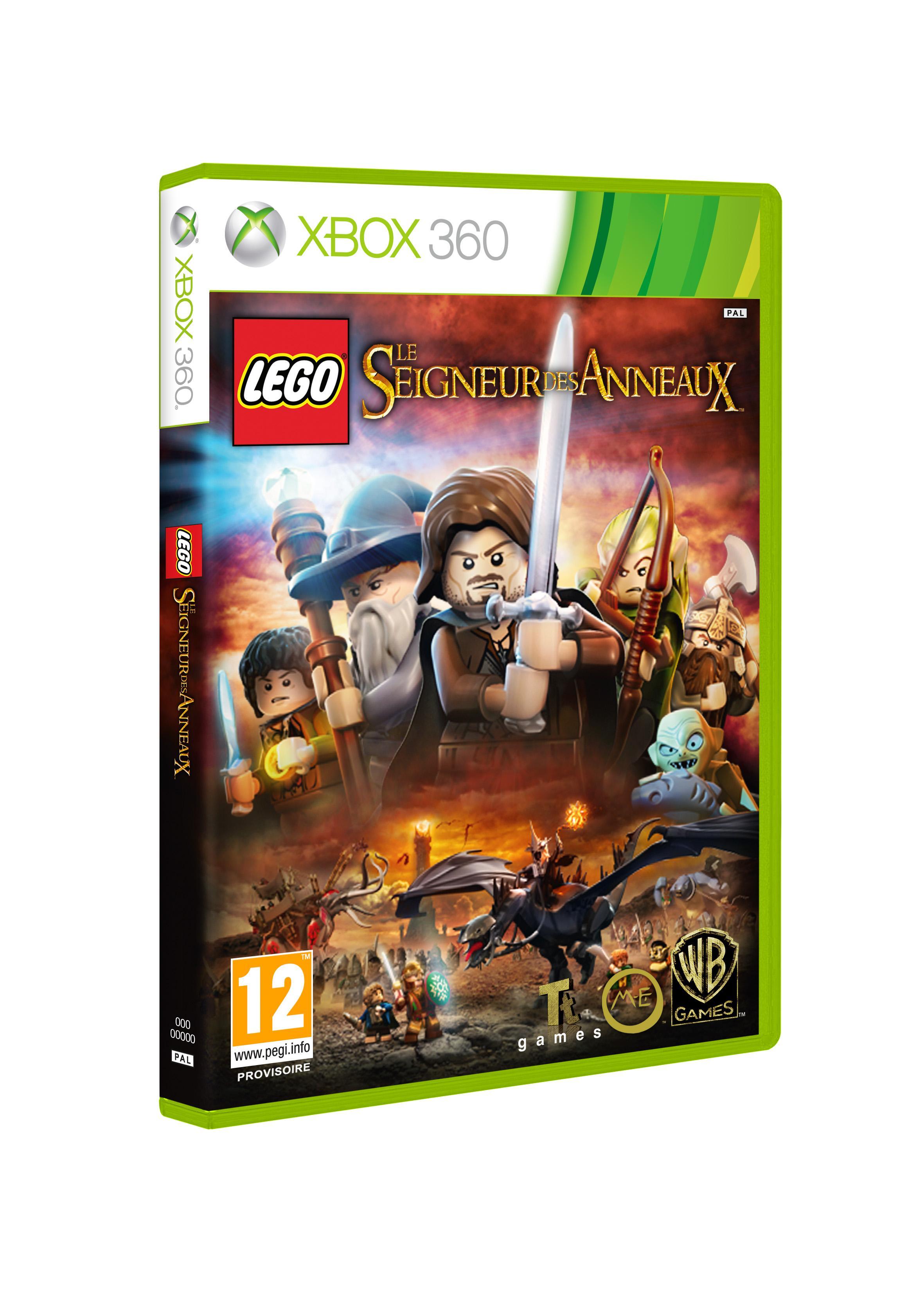 Retour à La pochette du jeu Lego Seigneur des anneaux