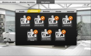 Gagner les Licences dans Le jeu Facebook Transporteur la série