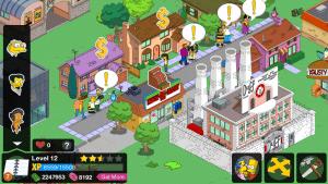 Donuts illimités dans Simpsons Springfield  Nozzhy