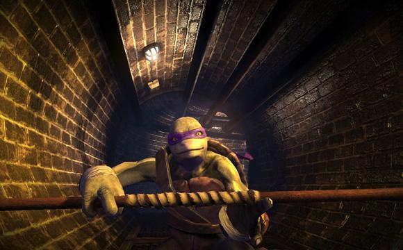tortues ninja depuis les ombres