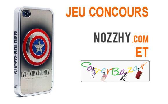 concours coque iphone captain america nozzhy