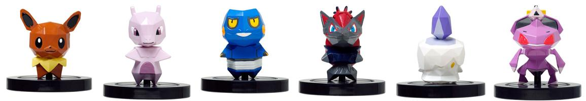 pokemon rumble figurine wii u