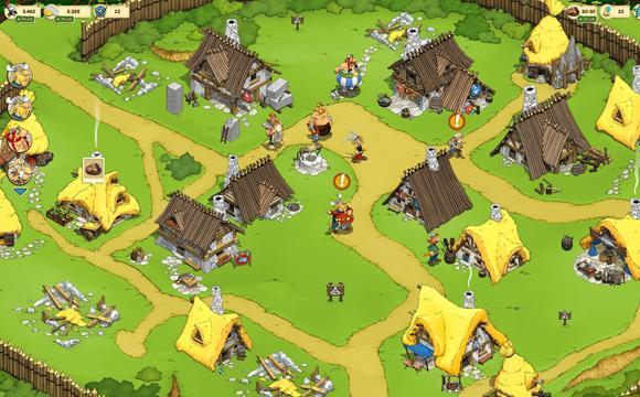 asterix et ses amis jeu navigateur
