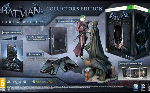 batman edition collector xbox 360 ps3