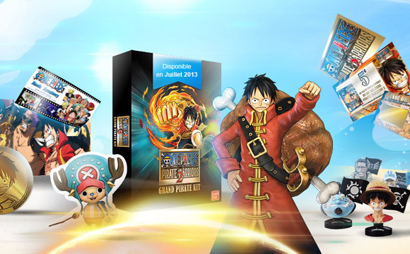 kit accessoires one piece pirate warriors 2