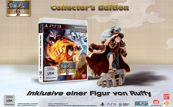 one piece pirate warriors 2 ps3 edition collector