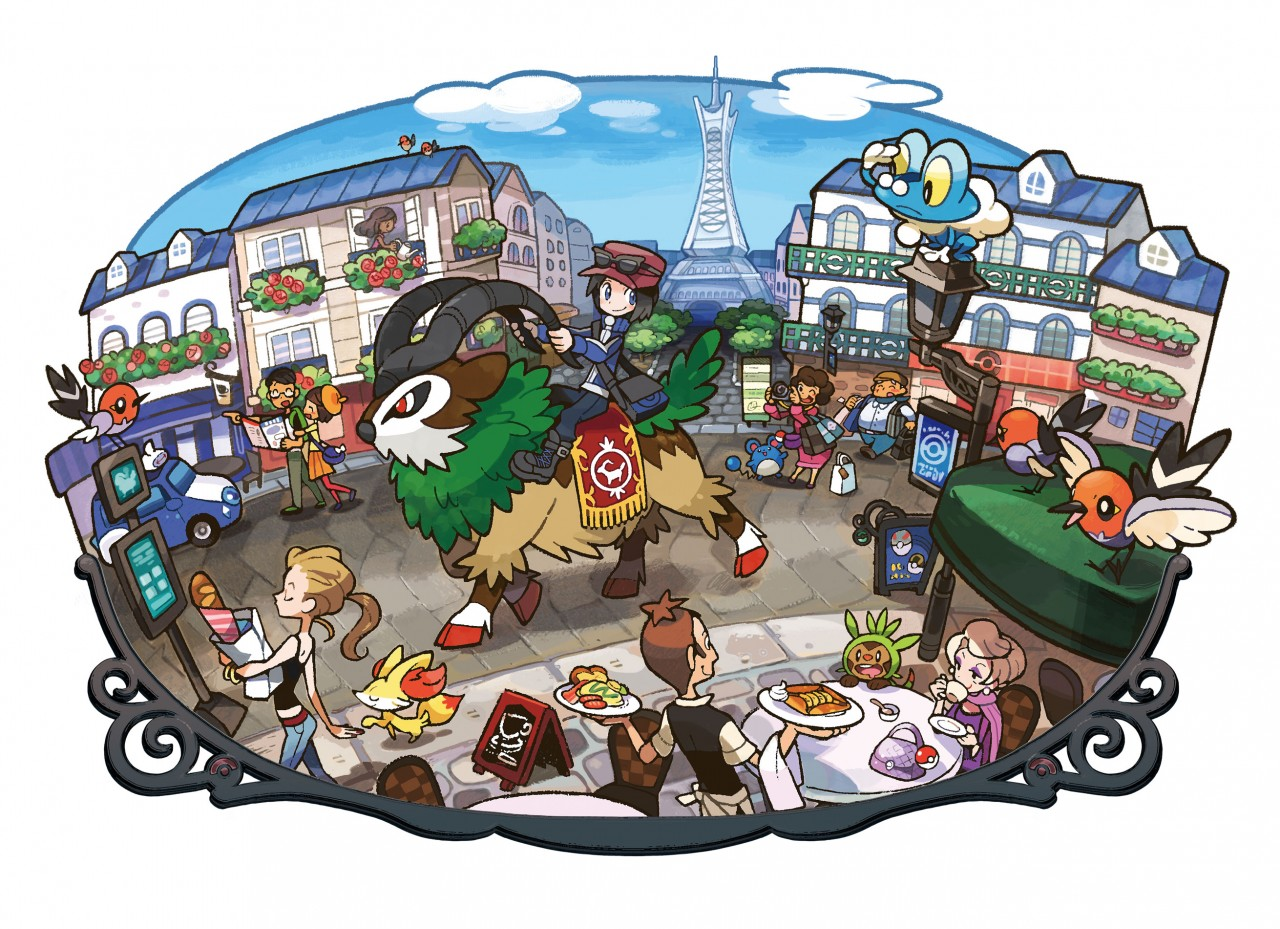 pokemon X/Y Decor France
