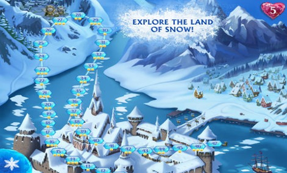 Solution-La-Reine-des-Neiges-Free-Fall-android