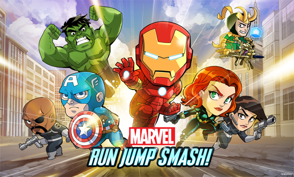 Marvel Run Jump smash android
