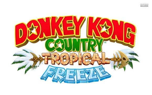 fond d'ecran donkey kong country tropical freeze mini