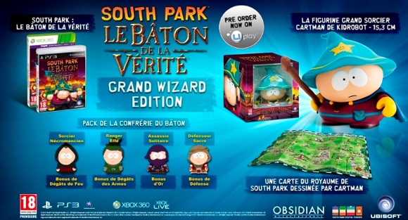 edition collector south park le baton de la verite