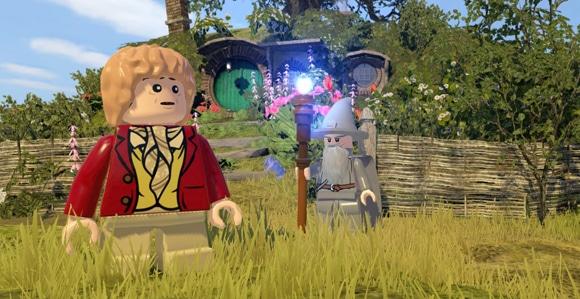 Trophées Lego le hobbit