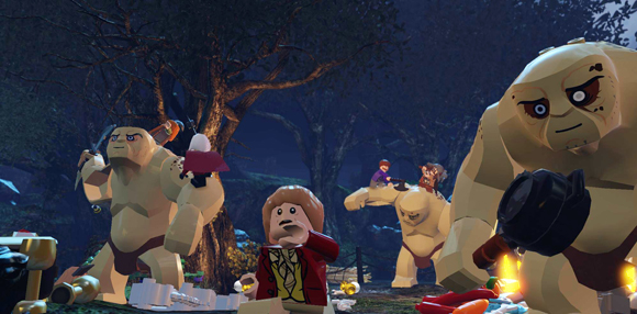 Lego le Hobbit liste trophée
