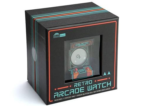 montre retro gamin borne arcade