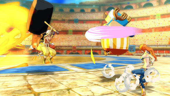 personnages-mode-colisee-one-piece-unlimited-world-red